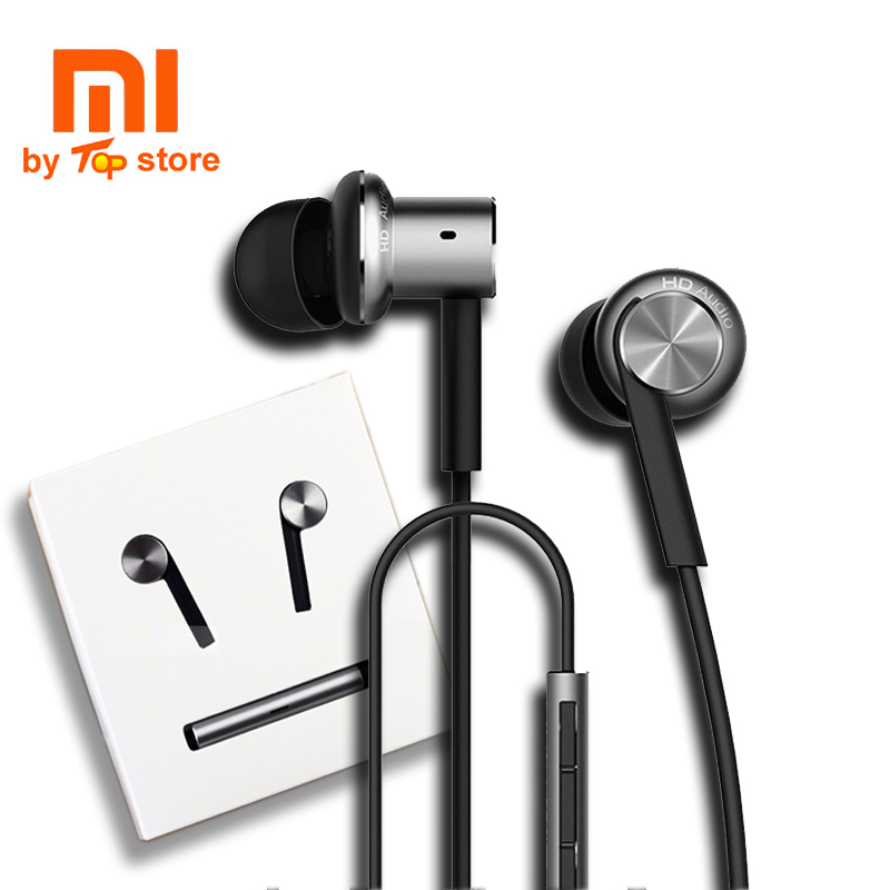 Original Xiaomi xiomi Mi Hybrid multi-unit Earphone with Mic Remote In-Ear piston 3 Headset earbuds for Mobile Phone dual core ssr 40 da h dc ac solid state relay ssr 40a 3 32v dc 90 480v ac w heat sink