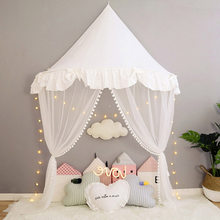 Baby Crib Mosquito Netting Tent for Kids Girls Princess Bed Canopy Children Play House Tent Tipi Enfant Teepees Home Decoration(China)