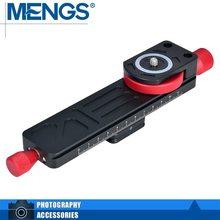 Менгс W-160 Макрос Фокусировка железнодорожных с алюминиевого сплава для DSLR Камера Совместимость с Arca-Swiss Стандартный (14110005601)