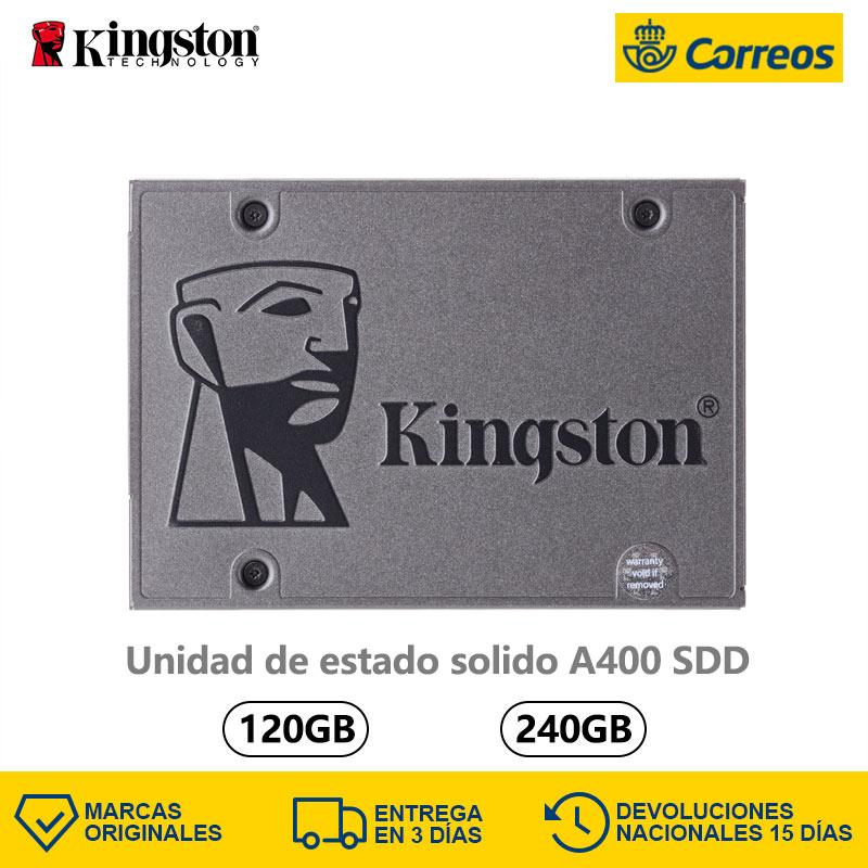 Original Kingston A400 <font><b>SSD</b></font> Hard Disk 120GB 240GB <font><b>SATA</b></font> 3 500 MB/s TLC <font><b>SSD</b></font> <font><b>120</b></font> 240 <font><b>GB</b></font> Hard drives <font><b>SSD</b></font> 120GB 240GB internal storage image