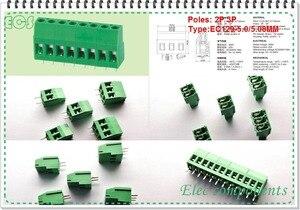 Бесплатная доставка 20 шт KF129/KF129V 2/3PIN шаг 5,0 мм/5,08 мм PCB винт Teminal блок