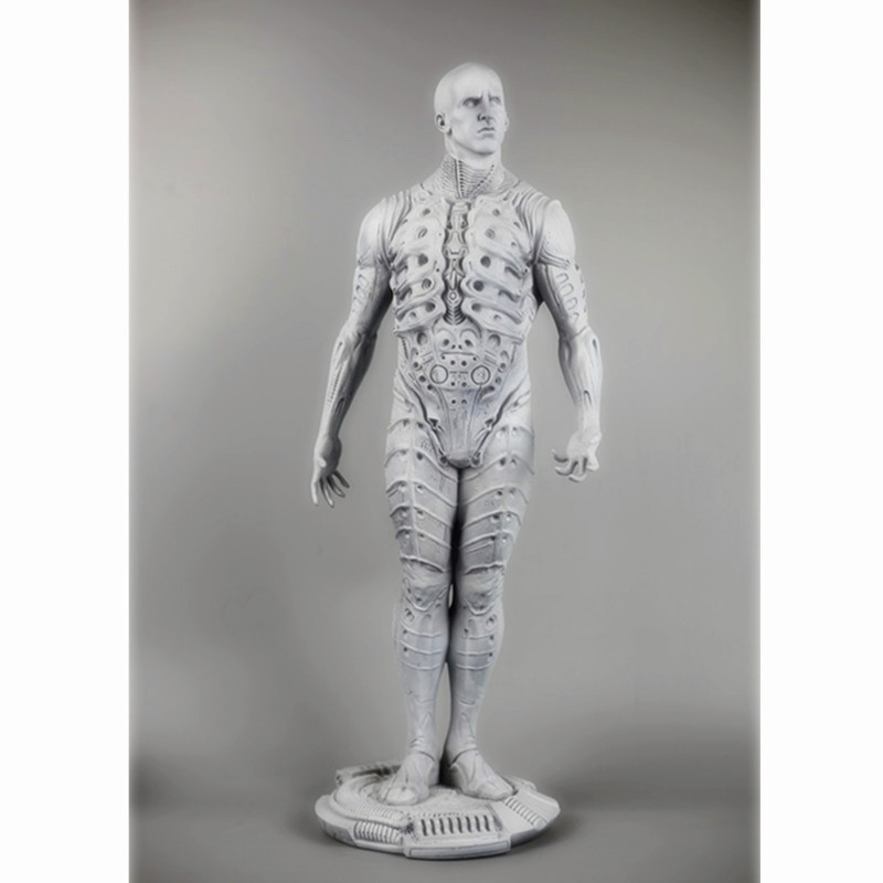 Prometheus Alien ingénieur espace extérieur chevalier perdu mousse modèle pleine longueur Portrait Sculpture résine bureau décoration G1506