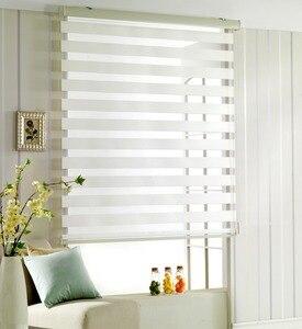 Бесплатная доставка занавески для окна Зебра жалюзи рулонные жалюзи для гостиной офиса кухни Haoyan ролик cortina Индивидуальный размер