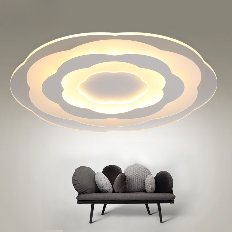 White Minimalism Ultrathin Modern LED Ceiling Light for Living Room Kitchen Bedroom BathRoom Ceiling Lamp Indoor Lighting