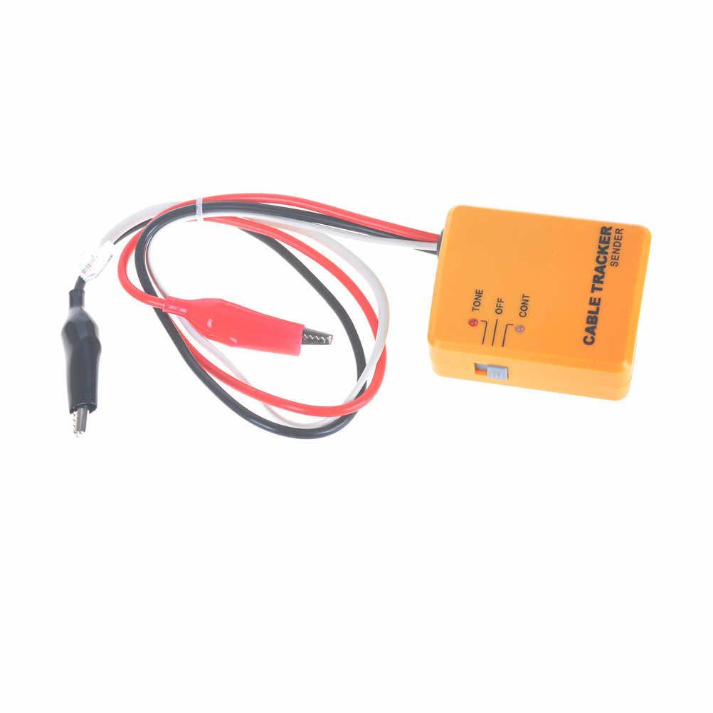 Ağ Araçları Taşınabilir RJ11 Ağ Telefon Telefon Kablosu Test Cihazı Toner Tel Tracker Tracer Teşhis Bulucu Dedektörü