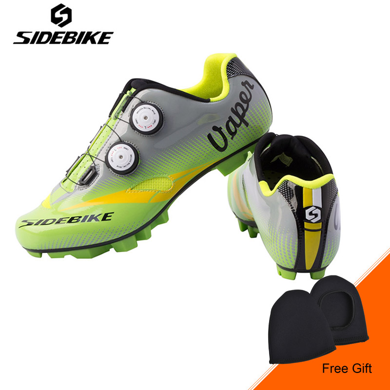 Sidebike New Men Professional Cycling Shoes Mountain MTB Bicycle Shoes Breathable Self-locking Bike Shoes Zapatos de ciclismo tiebao mtb bike self locking shoes ride bicycle shoes breathable cycling shoes for women men mtb ciclismo zapatos