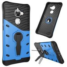360 градусов поворотный стенд броня обложка для leeco le 2 case снайпер гибридный силикон + pc телефон случаях аксессуары