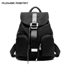 Preppy Style Women Backpack Waterproof Nylon Backpack Lady Teenage Girl Backpacks Female Casual Travel Bag Mochila Feminina