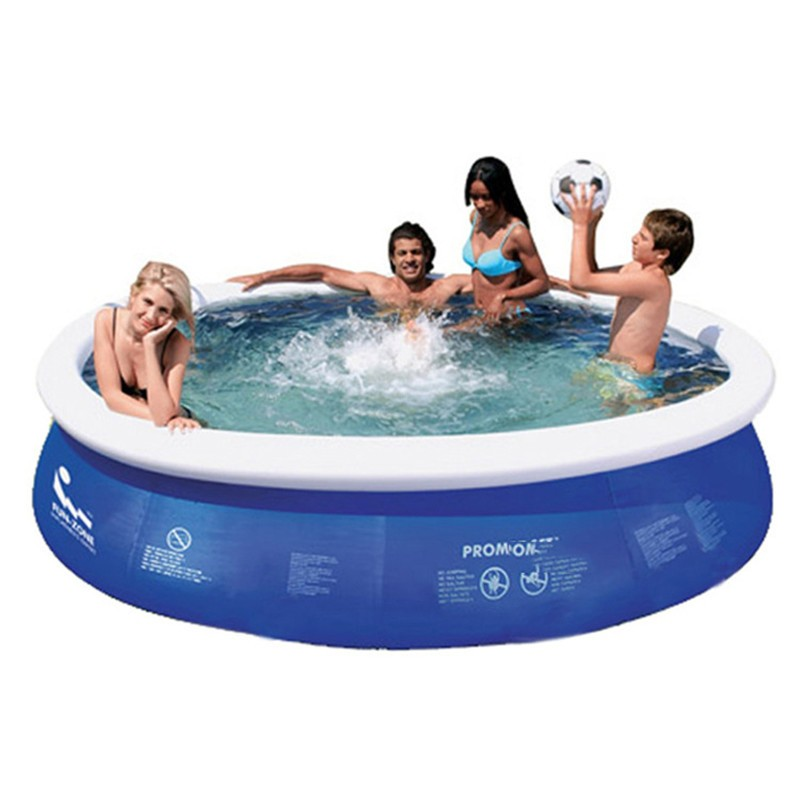 Large Inflatable Swimming Pool Inflatable Water Sports Family Inflatable Pool 360x76cm In Hair