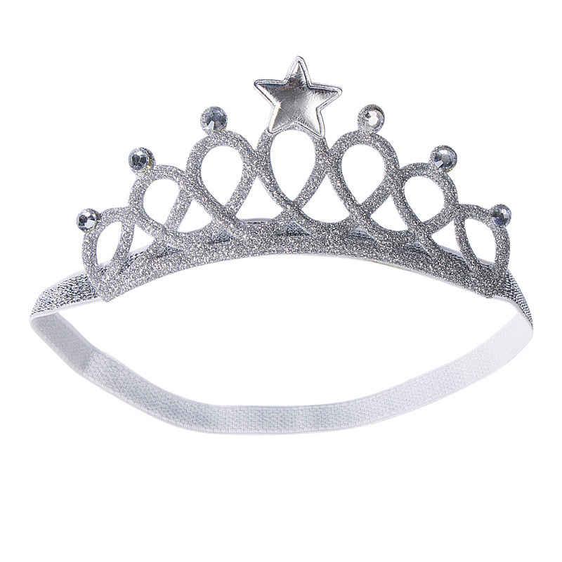 Новинка 2019 г., лидер продаж, модная повязка на голову для новорожденных мальчиков и девочек, повязка на голову с короной на день рождения, аксессуар для волос