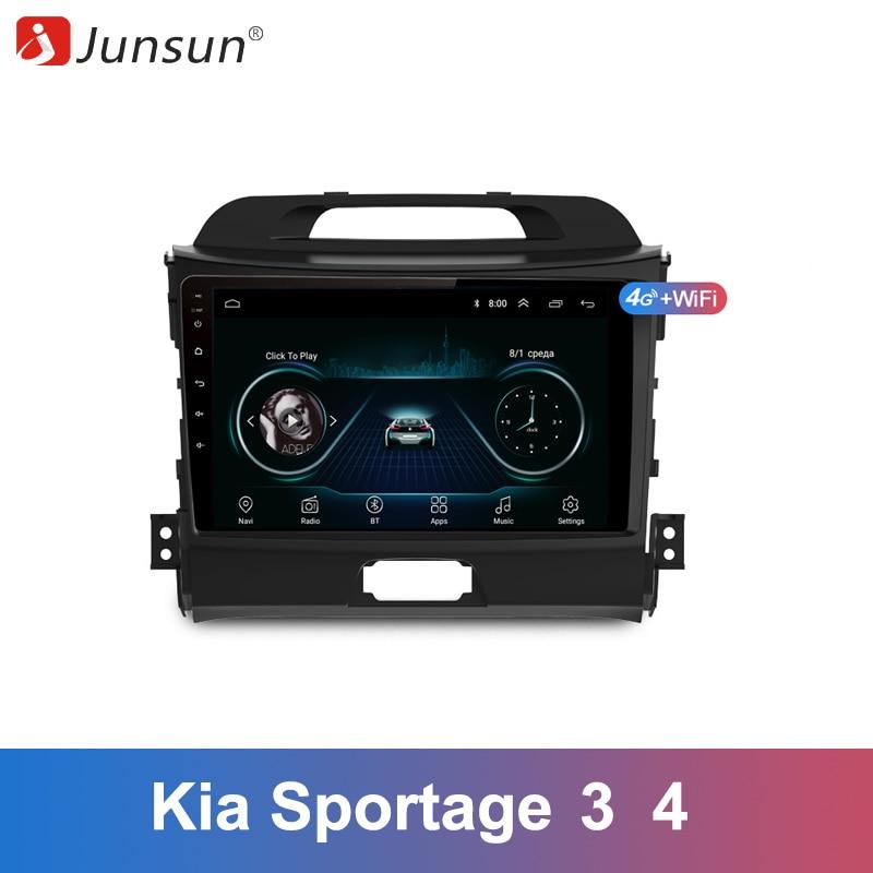 Junsun 2 Din Multimedia Video Player Android 8 1 GPS Navigation for KIA Sportage 3 4