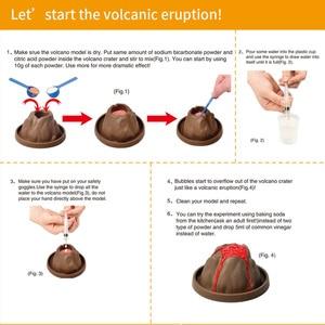Kids Experiment Erupting Volca
