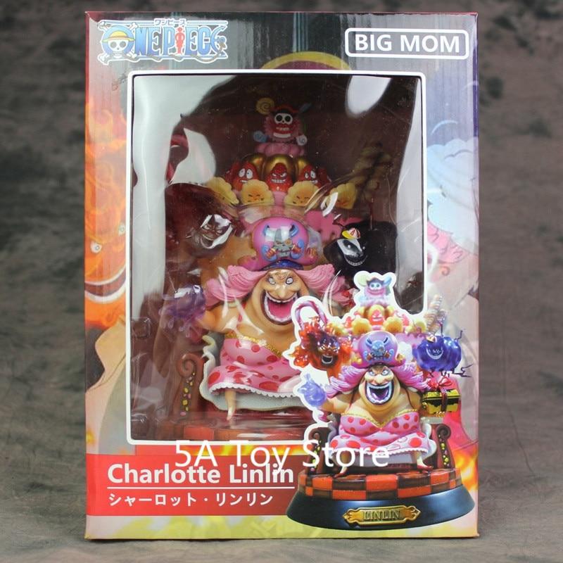 Anime One Piece BIG MOM Charlotte Linlin 15cm PVC Figure Statue New In Box