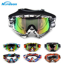 Man&Women Motocross Goggles Glasses MX Off Road Masque Helmets Goggles Ski Sport Gafas for Motorcycle Dirt Bike Racing Google leshp vintage motocross goggles glasses cycling eye ware mx off road ski helmets goggles with adjustable elastic strap