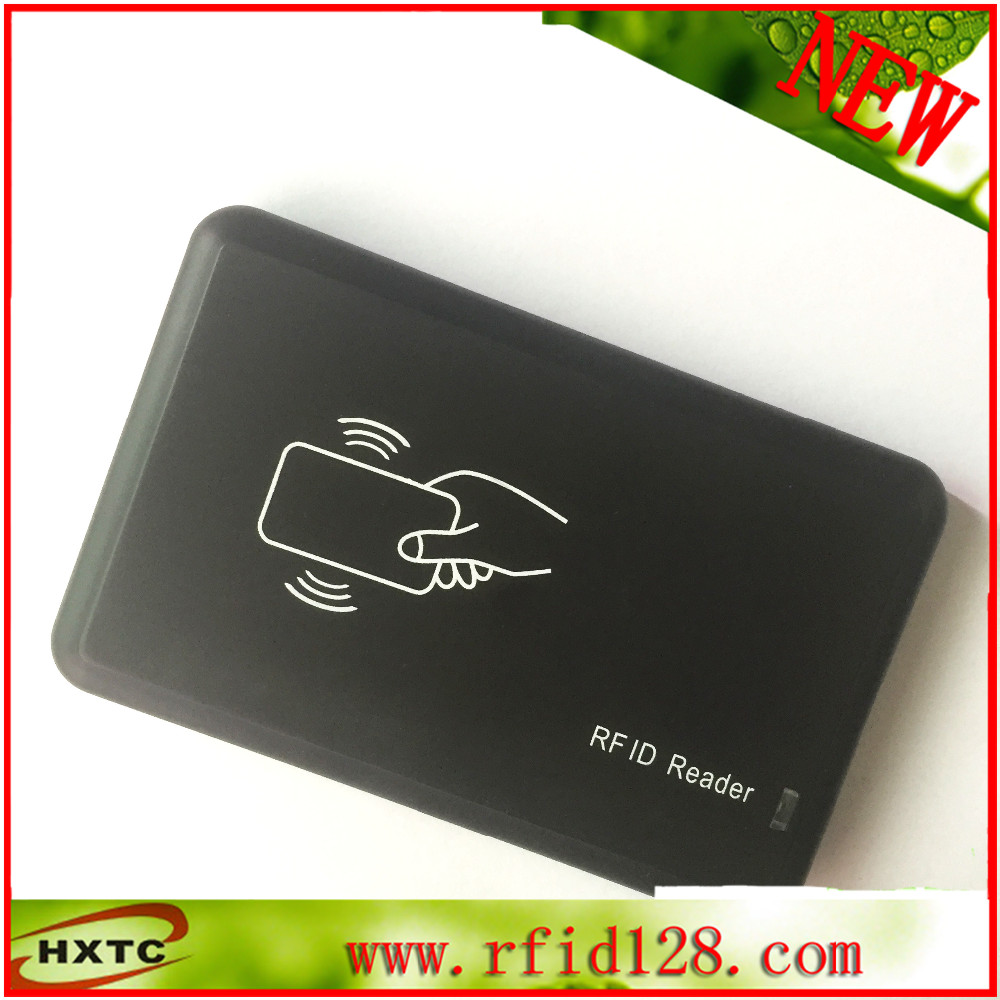Free Shipping 125KHz Black USB Proximity Sensor Smart rfid id Card Reader For EM4100&TK4100 &Compatible Card/Tag No Need Driver free shipping 125khz rfid reader usb proximity sensor smart card reader 2pcs 125khz rfid em4100 keyfobs