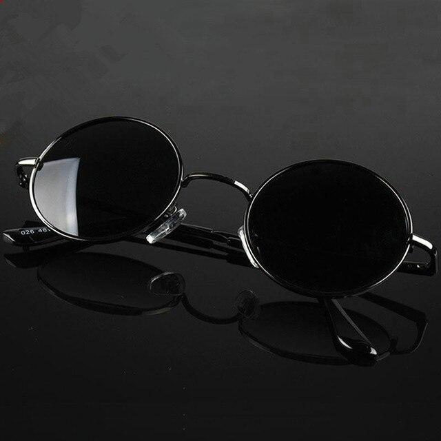 78b5f7e8349c0 Tomada de fábrica Óculos Polarizados Óculos de Sol espelho retro rodada  moda rodada Príncipe óculos de