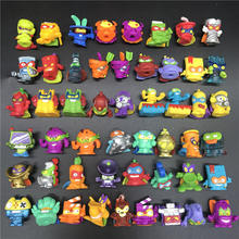 HOT Superzings Series 1 2 3 Garbage Doll Rubber Cartoon Anime Action Figures Toy Collection Super zings Model toy pack in bag 1 3pcs lot superzings anime trash dolls action figures 3cm super zings rubber model playing garbage doll gift