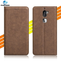 Luxury Retro PU Leather Case For LeEco Letv Cool 1 Cool 1 Dual Coolpad Cool1 Stand