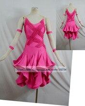 Hot sales Free shipping Latin dance dress tango salsa samba dance dress latin dance wear LD