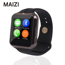 LUNDI C88 Reloj Bluetooth Smart Watch Armbanduhr Sport Pedometer Con Sim Karte Montre Inteligente Smartwatch Android IOS Telefon