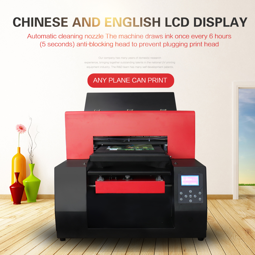 Automatic T-shirt Flatbed Printer A3 Size Print Machine for Cotton - Office Electronics - Photo 4