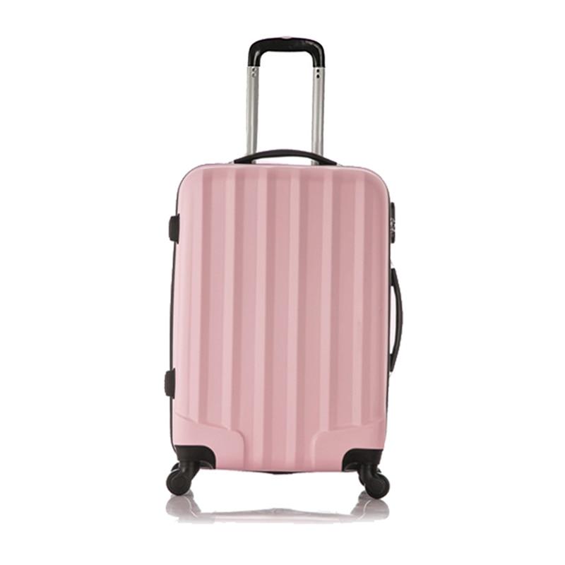 4 wheels trolley suitcase high capacity ...