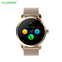 Floveme bluetooth smart watch für ios android pulsmesser schrittzähler wearable electronic device smartwatch call armband