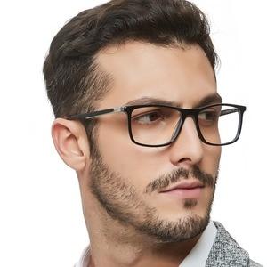 Image 5 - High Quality Acetate Retro Prescription Medical Optical Eye Frames Men Hand Made Glasses Frame Male black OCCI CHIARI W CANO