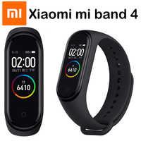 Original Xiaomi mi Band 4 pulseras inteligentes mi band 3 pulsera ritmo cardíaco Fitness Tracker pantalla táctil pulsera inteligente 2019