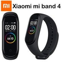 Original Xiaomi Mi Band 4 Smart Wristbands Miband 3 Bracelet Heart Rate Fitness Tracker Touch Screen pulsera inteligente 2019