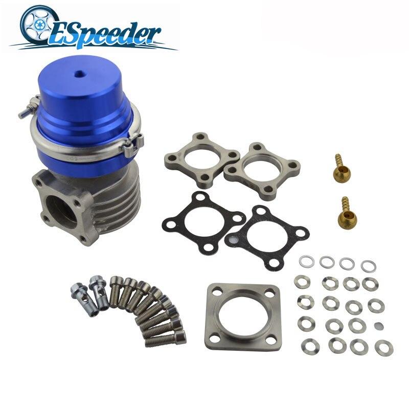 Cousseder 46mm haute Performance poubelle Turbo externe universel 13 Psi avec Base en acier inoxydable à bride