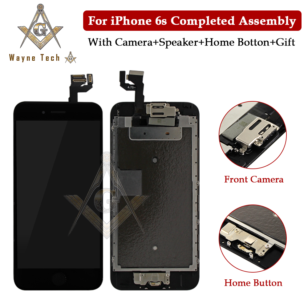 Replacement For IPhone 6G S Plus 7 7G LCD Display LCD Digitizer Touch Screen Completed Assembly With Parts Free Shipping