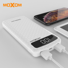 MOXOM Power Bank 20000mAh USB Power