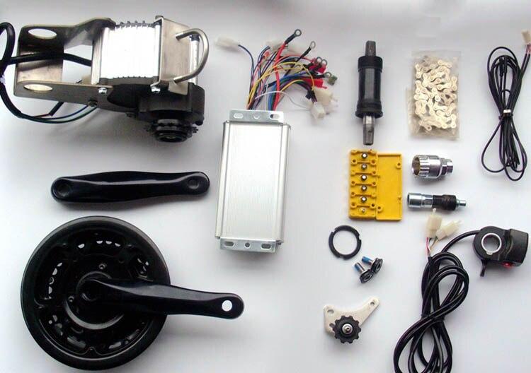 48 ボルト 450 ワット/600 ワットミッド · ドライブ方式モータ電動自転車電動自転車モーター使用 mtb マウンテンバイク道路自転車  グループ上の スポーツ & エンターテイメント からの 電動自転車モーター の中 1