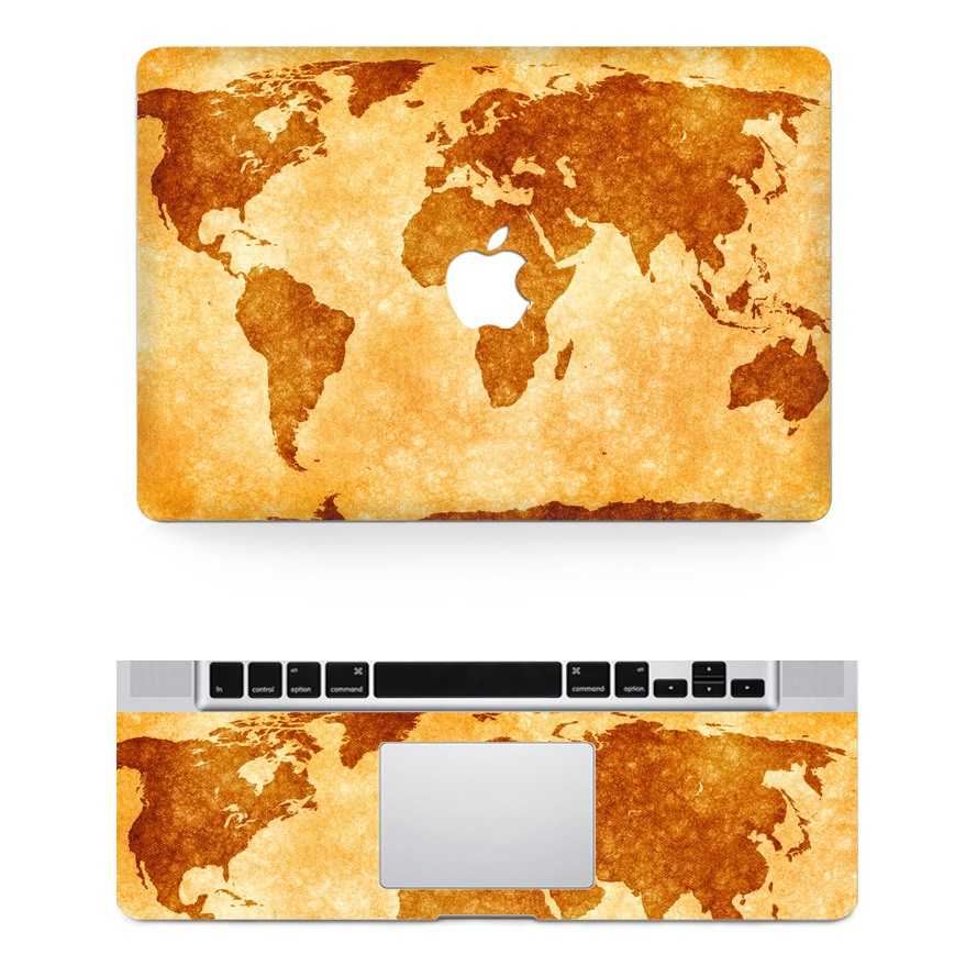 Map of the world keyboard sticker map of the world keyboard sticker 2016 world continent map skin laptop top decalkey gumiabroncs Choice Image