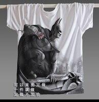 [XHTWCY] Hot Sale Joker Heath Ledger T shirts Vintage Movie Batman 2 The Dark Knight Rises Tshirts Custom Funny Print T Shirts