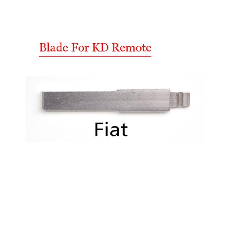 Free shipping (10 pcs/lot)Metal Blank Uncut Flip KD Remote Key Blade Type SIP22  for Fiat free shipping 1piece 2 button remote key mit11 uncut blade with 46 chip 433mhz for mitsubishi
