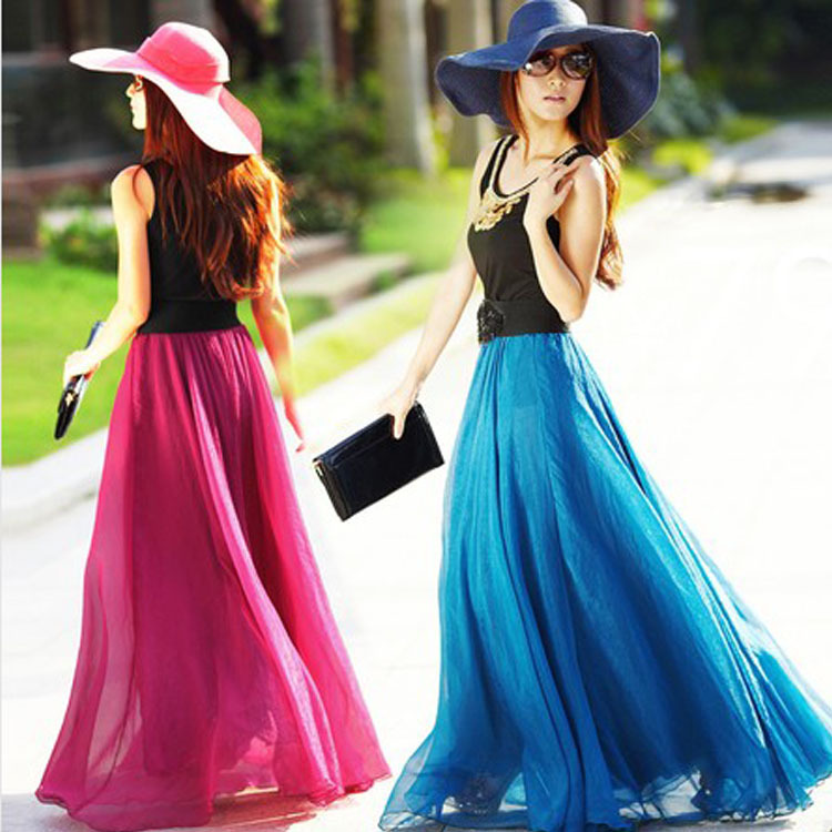 Compare Prices on Full Chiffon Skirt- Online Shopping/Buy Low ...