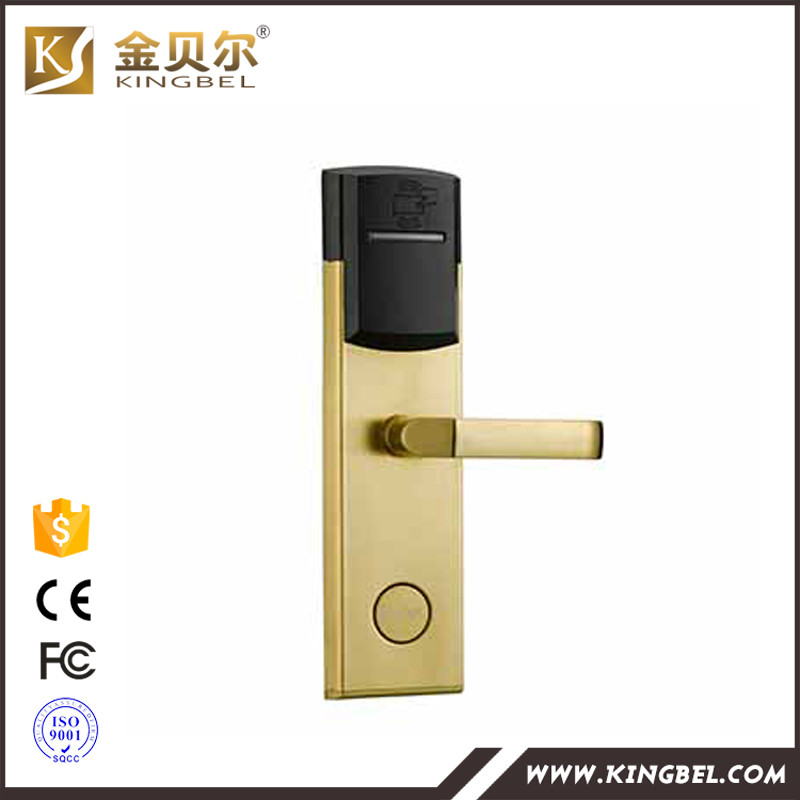Intelligent Rfid Card Wireless Door Lock Keyless Door Lock