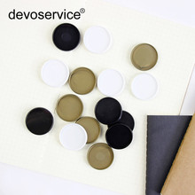 100pcs New Loose-leaf Binding Ring Outer Diameter 32mm Plastic Disc Binds Mushroom Hole Supplies Inner Book