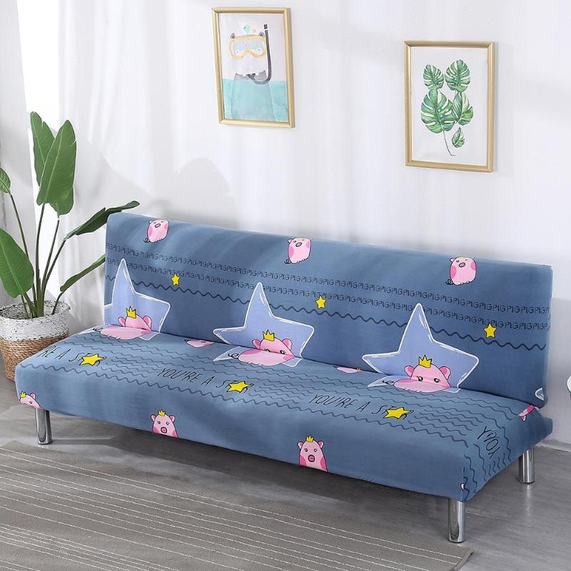 Star Pig Slipcover Fold Sofa Bed All-inclusive Cover Tight Wrap Elastic Sofa Non-slip Couch Without Armrest fundas de sofa