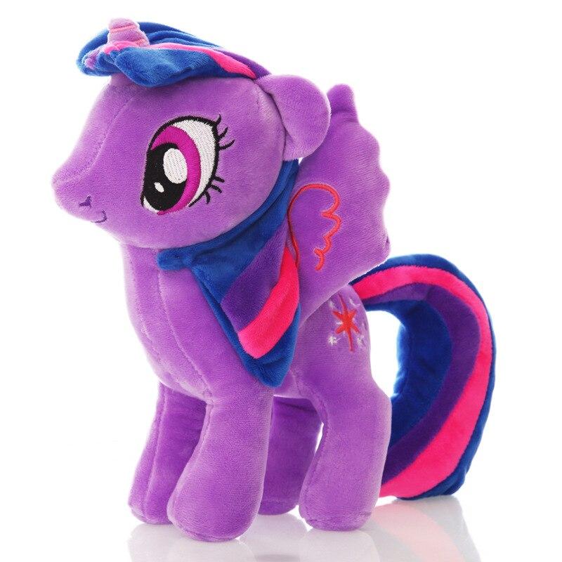 Licorne peluche jouet Anime poney Unicornio Kawaii peluche mon doux Friedship est magique Ty Beanie arc-en-ciel cheval jouets pour enfants cadeau