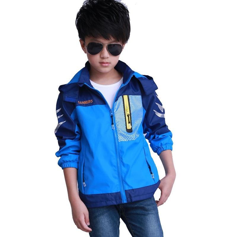2019 новая детская ветровка, Осенняя детская куртка в стиле пэчворк для мальчиков, Двухслойное непромокаемое пальто, верхняя одежда, куртки для мальчиков