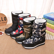 Fashion Suitable for cold winter comfortable and lightweight thick warm childrens snow boots boys girls non-slip booties