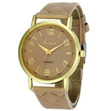 Новинка 2017 года Для женщин часы-браслет известный бренд дамы Искусственная Кожа Аналоговый кварцевые наручные часы Для женщин Relojes дропшиппинг a25
