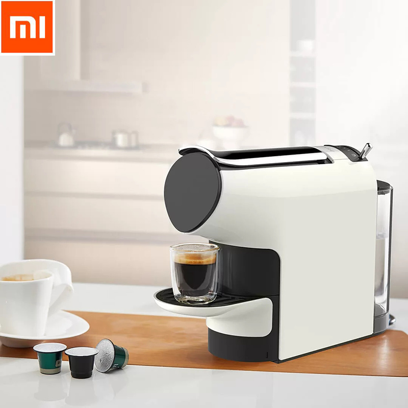 Newest Xiaomi SCISHARE Capsule Espresso Coffee Machine 9 Level Concentration Preset Compatible With Multi-brand Capsules xiaomi scishare capsule espresso coffee machine