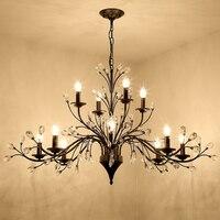 branch lamp led brake light retro chandelier lighting Edison Creative Loft Art Decorative DIY Chandelier Light bedroom lamps