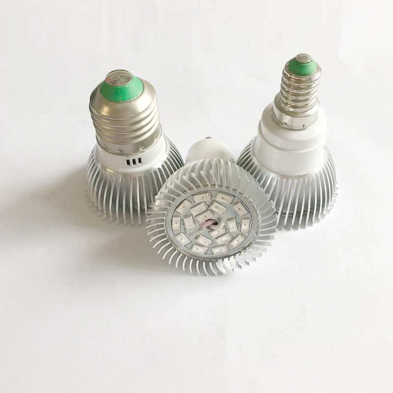 full spectrum led grow lights bulbs E27 E14 GU10 18W For Hydroponics and Small Plants High Quality LED Grow light full spectrum