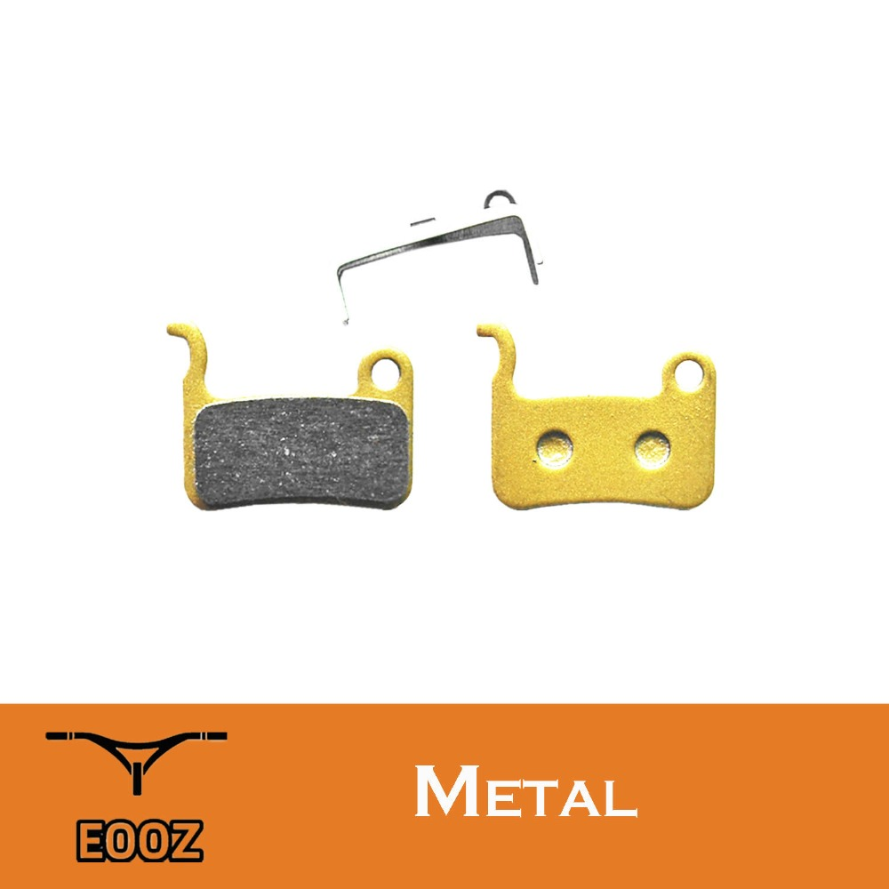 2 pairs Bike Sintered Disc Brake Pads Suit Shimano XT//R M975 SAINT M800 XT M775