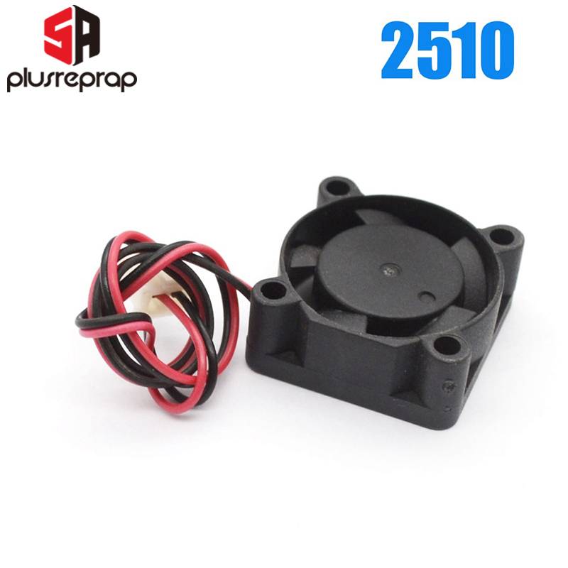 2510 12V 5V Brushless Cooling Fan For Reprap 3D Printer Parts DC Cooler 25x25x10mm Plastic Fan